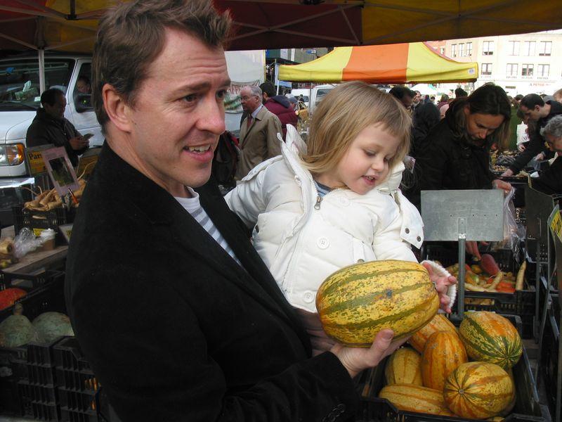 Colin at Market